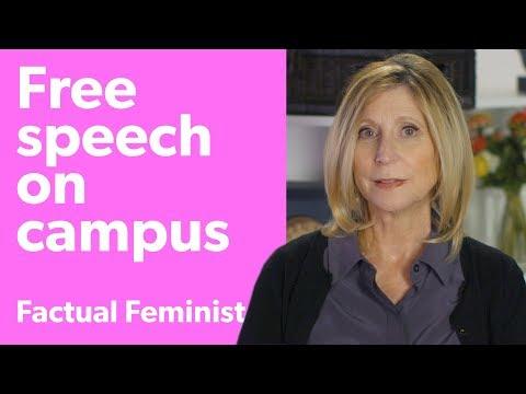 Free speech on campus: Is it in danger?  FACTUAL FEMINIST