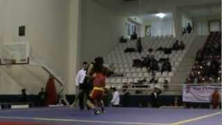 Wushu Hakan Uzun Türkiye Maç 1 .2. Raund 2012
