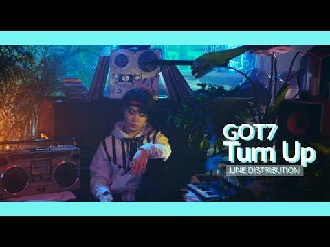 GOT7 - Turn Up: Line Distribution