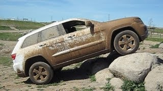 New Jeep commercial... 2014 Jeep Grand Cherokee ground clearance test.