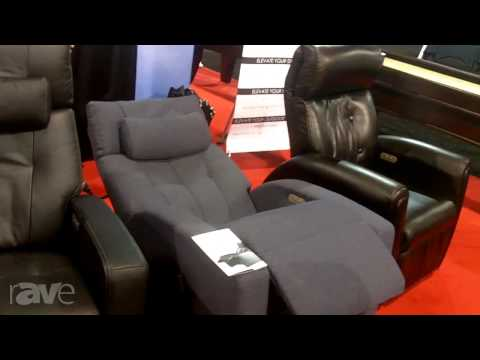 CEDIA 2013: Positive Posture Shows Off its True Zero Gravity Recliner
