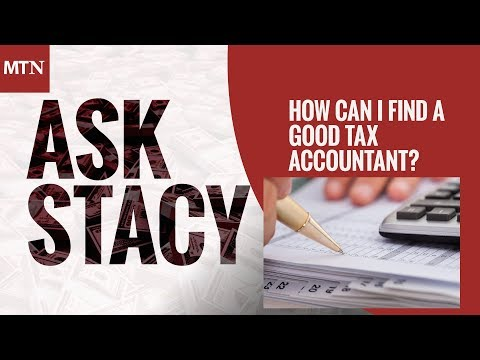 How Can I Find A Good Tax Accountant?