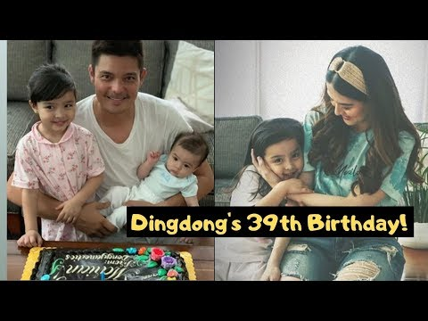 Panoorin DINGDONG DANTES 39th birthday Celebration With Marian Ate Zia Baby Sixto - 동영상