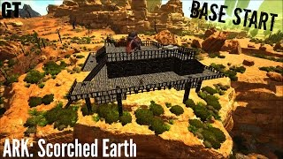 Starting Base and Water Storage (E2) - ARK: SCORCHED EARTH