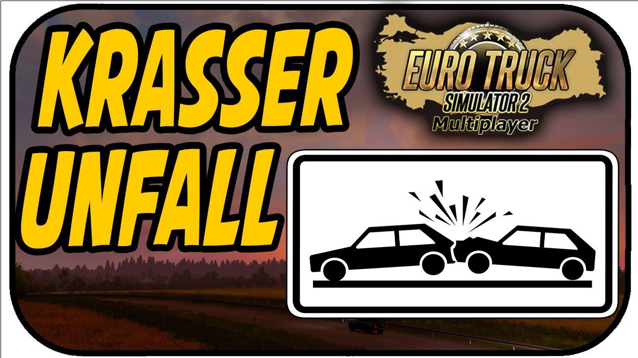KRASSER UNFALL - ETS 2 Multiplayer Scandinavia #392 - LET\'S PLAY ...