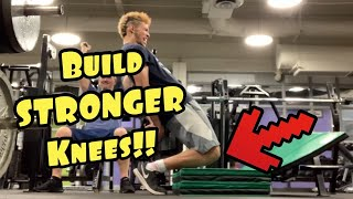 Build Stronger Knees To Jump Higher! Video