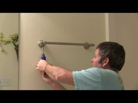 Towel Bar Removal from Wall HOW-TO