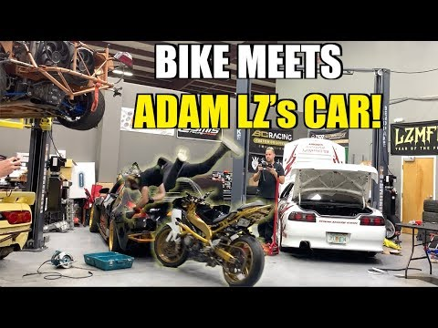 I Crashed Into Adam LZ's Drift Car + Sold Him A Turbo Can-Am