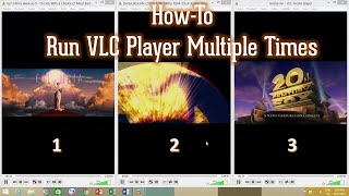 Play Multiple Video Files in a Time | VLC Media Player Tutorial