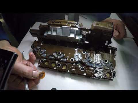 Фото к видео: P0751, Cadillac, Chevrolet - ремонт гидроблока 6L50, 6L90, 6L45, 6T70, 6T75 и похожих