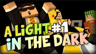 SIMON ALWAYS FALLS - Minecraft A Light in the dark PART 1 w/ Simon Yammy and Edge