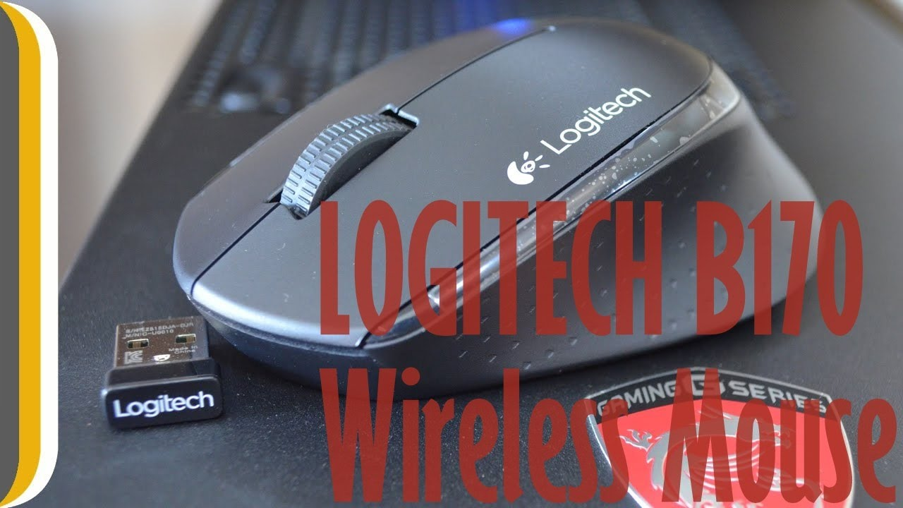 9f15bafd01f Logitech B170 Wireless mouse Unboxing & review - YouTube