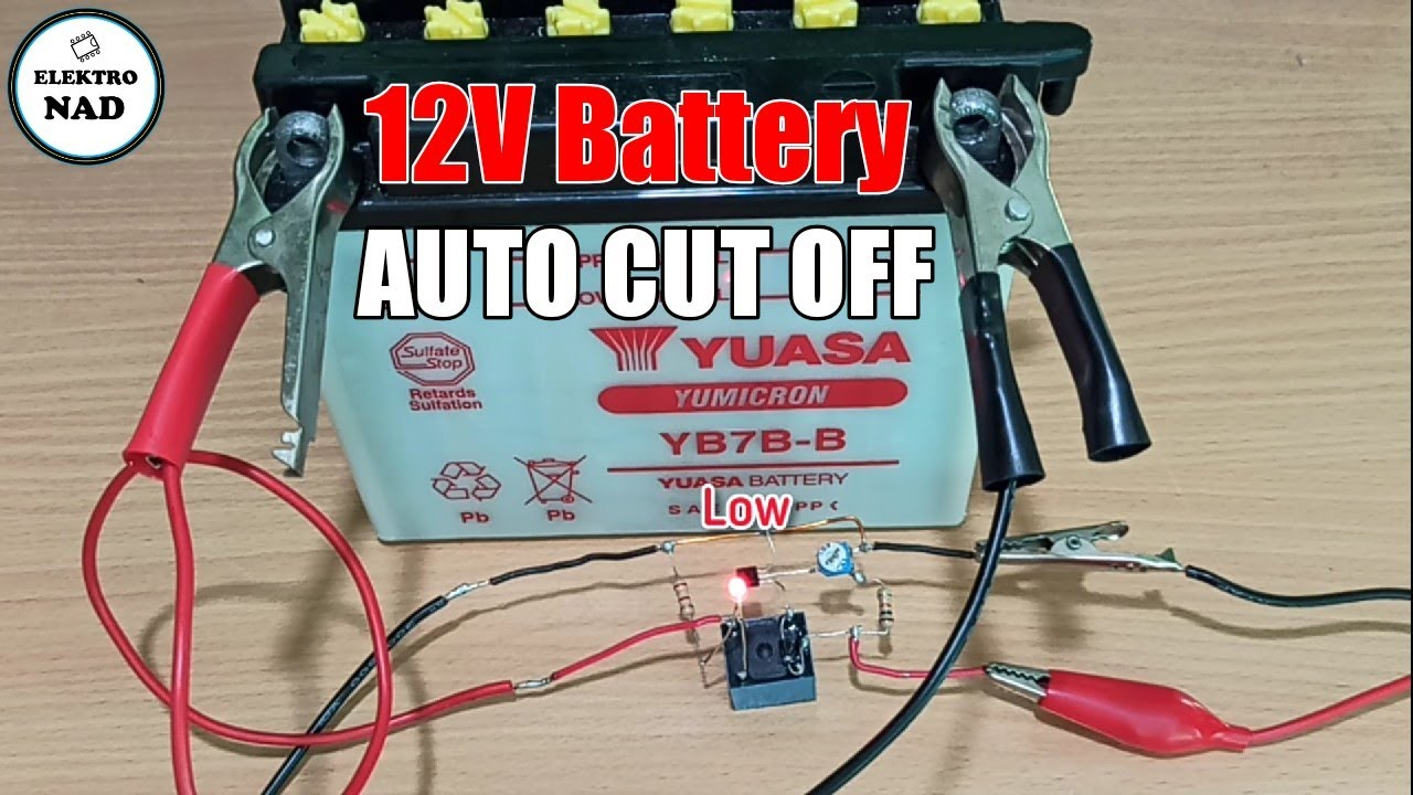 12V battery Charger Auto cut off