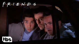 Friends: Joey, Ross and Chandler Go On A Ride Along With Phoebe's Boyfriend (Season 5 Clip)   TBS