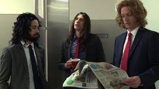 Long Haired Businessmen - Bathroom