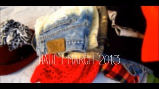 HAUL | March 2013 Haul feat. Urban Outfitters, Calico, TJ Maxx Thumbnail