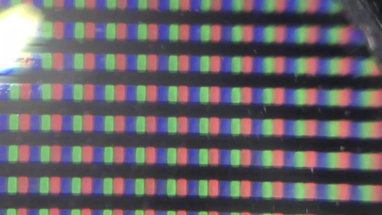 Pixels On A Tv Zoomed In Youtube