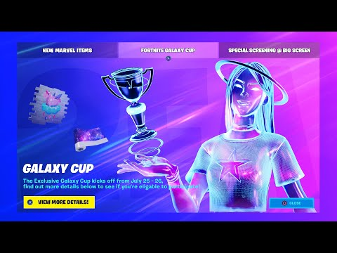 How To ENABLE 2FA In Fortnite! (FREE SKIN) - Exclusive Galaxy Girl Cup | Two-Factor Authentication