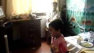 "Kanav dancing on ""Aaja mahi ve"""