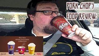 Pork Chop's Food Review: Mcdonalds' (mccafé) White Hot Chocolate (medium)