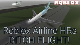 Roblox Airline HRs DITCH EVERYONE DURING A FLIGHT