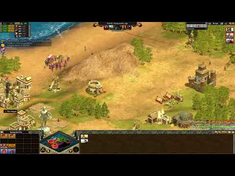 Rise of Nations - 1v3 Tougher AI!