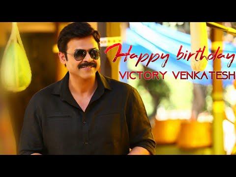 Happy Birthday 🔱Victory Venkatesh🔱 #Hbd_Venky || Babu Bangaram || #F2