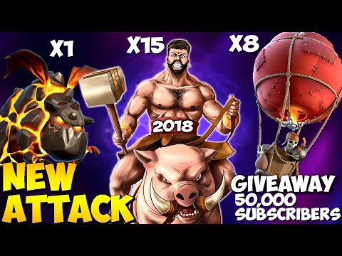 QUEEN WALK HOLALO: NEW TH9 STRONG WAR ATTACK STRATEGY 2018 | Clash of Clans