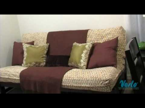 Futon Facelift: Home Office