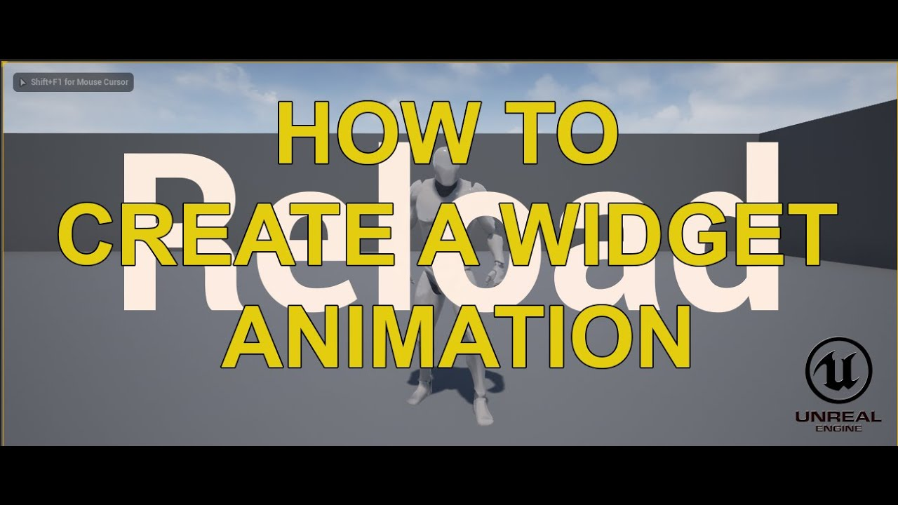 Unreal Engine How To Create Widget Animation