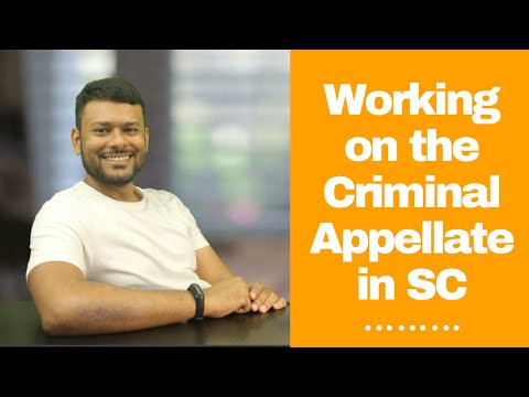 Working on the Criminal Appellate Side in SC | Shivam Singh | An Hour With LawSikho