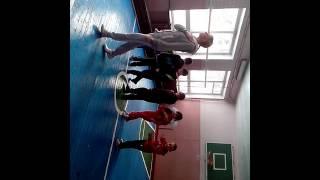 Уроки фізичного виховання В Кремінській спец. школі - інтернаті