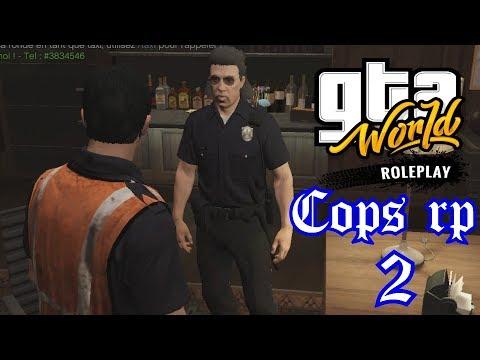 Le commandant nous convoque - COPS RP 2 - GTA WORLD ROLEPLAY