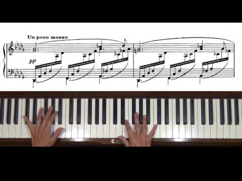 Debussy Clair de Lune Piano Tutorial Complete with score
