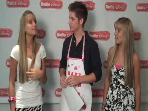 The Rosso Twins Discuss Legally Blondes on Radio Disney's Celebrity Take with Jake