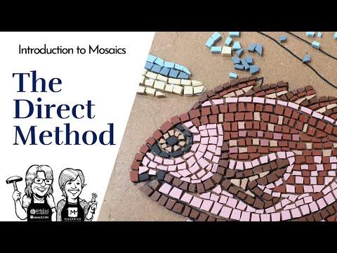 DYI Introduction to Mosaics: the Direct Method using Unglazed Porcelain