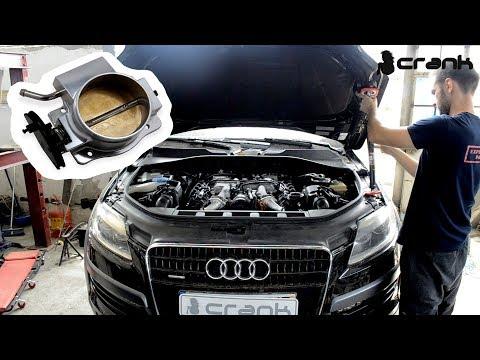 Throttle Body Quick Diagnosis Audi Q7