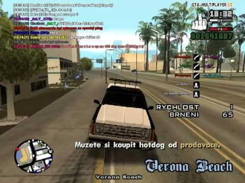   GTA SA   J@zex   WtLS   Zatýkání z 9. a 10.9 + Jazexův driving skill   CZ & SK  