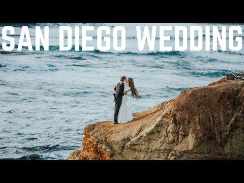 San Diego Wedding Film || Allie + Daniel