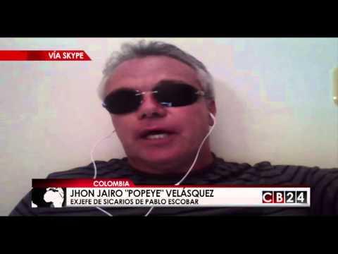 """""""Popeye"""" Velásquez: """"El ego de El Chapo Guzmán fue el principal causante de su recaptura"""""""