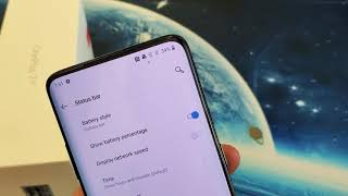 OnePlus 7 Pro: How to Add Battery Percentage (%) Sign on Top Status Bar