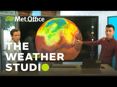 UK Heatwave special - 23/07/19 - The Weather Studio
