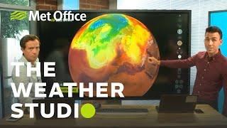 UK Heatwave special - 23/07/19 - The Weather Studio