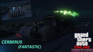 "GTA Online ""Cerberus Fantastic"" Обзор (Футуристический бензовоз)"