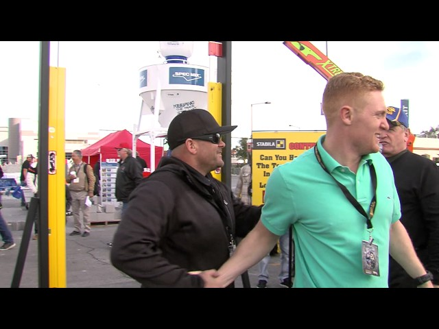 Stabilia's Chin-Up Challenge at the 2017 SPEC MIX BRICKLAYER 500® World Championship