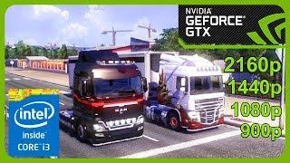 Euro Truck Simulator 2 GamePlay [ PC ] in NVIDIA GeForce GTX 1050 2GB
