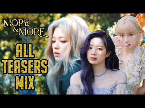 TWICE - MORE & MORE Teaser Mix | ALL MEMBERS (CONCEPT FILMS)