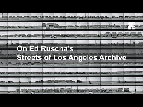 On Ed Ruscha's Streets of Los Angeles Archive