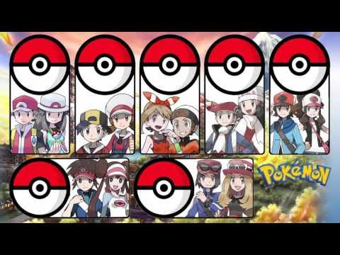 Pokémon - All Ending Themes (1996 - 2015)