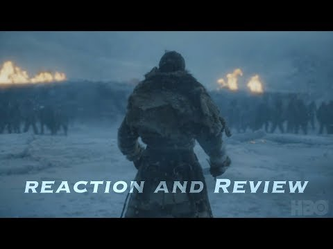 Game of Thrones Season 7 Episode 6 - Beyond the Wall Reaction, Review and Breakdown (Spoilers)